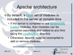apache architecture36