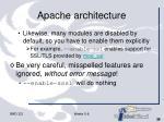 apache architecture39