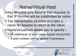 namevirtual host
