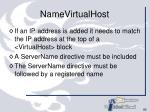 namevirtualhost