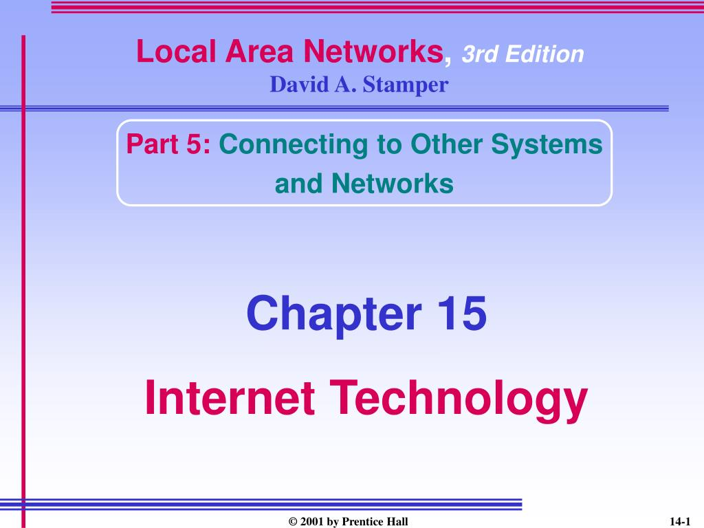 local area networks 3rd edition david a stamper