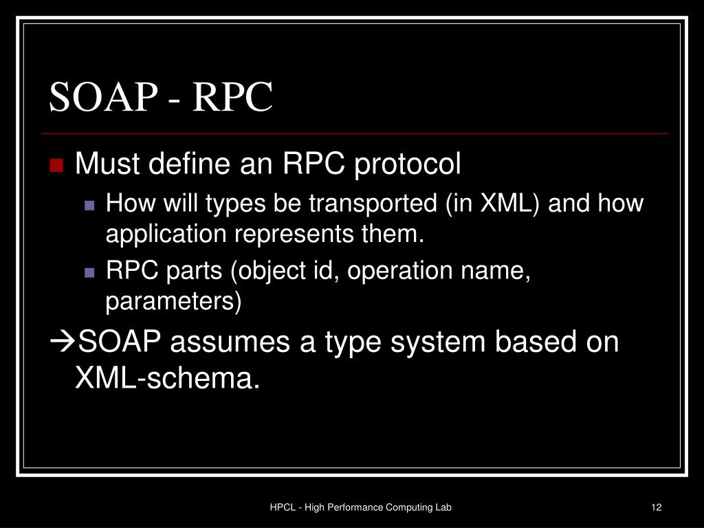 SOAP - RPC