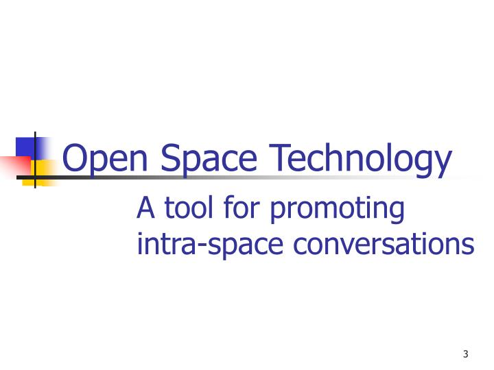 PPT - Open Space Technology PowerPoint Presentation - ID:1125326
