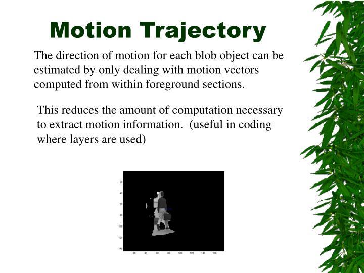 Motion Trajectory