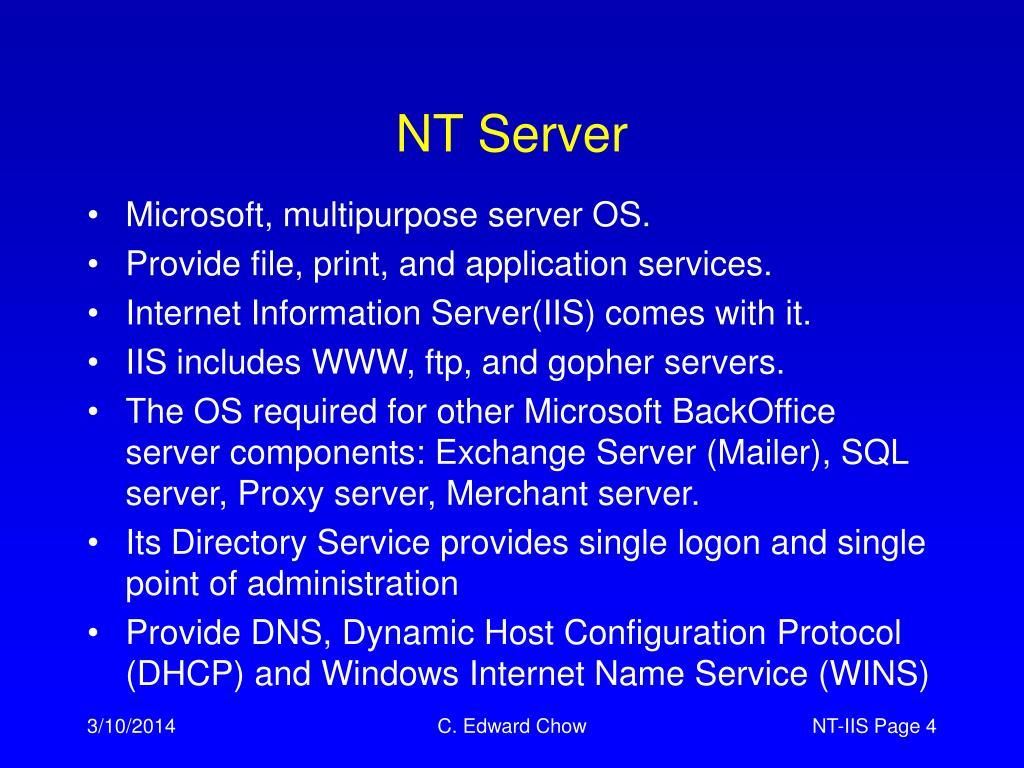 NT Server