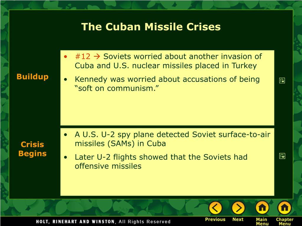 The Cuban Missile Crises