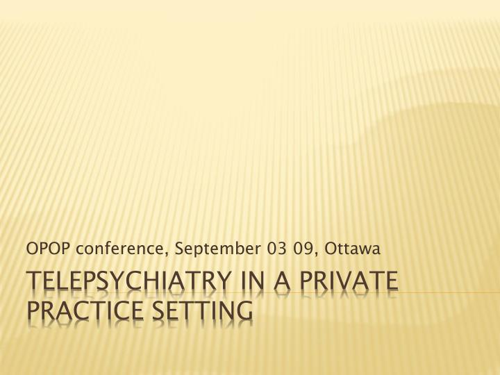 Opop conference september 03 09 ottawa