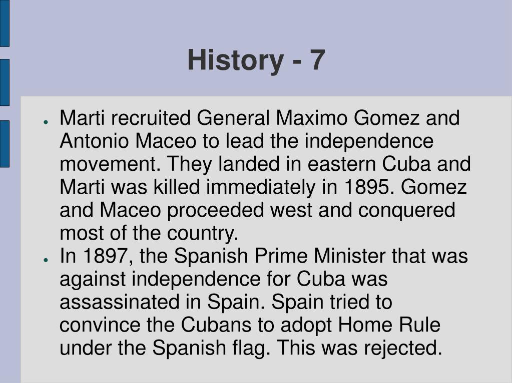 History - 7