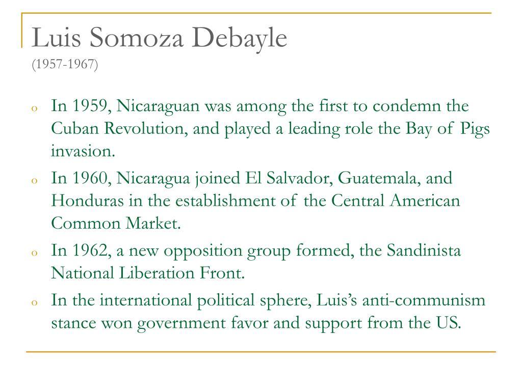 Luis Somoza Debayle