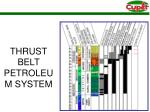 thrust belt petroleum system