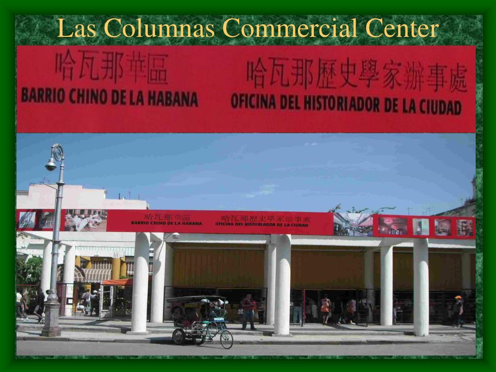 Las Columnas Commercial Center