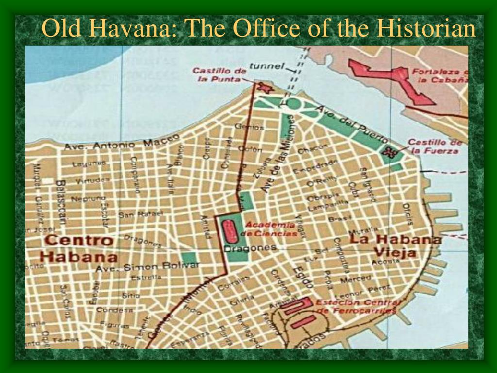Old Havana: The Office of the Historian