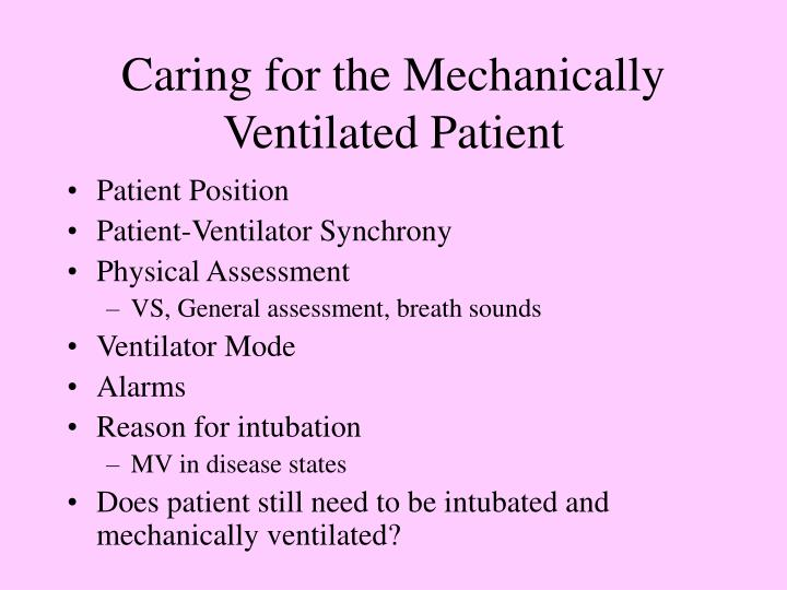 mechanically ventilated patient This has resulted in a resurgence of interest in the use of esophageal manometry  in mechanically ventilated patients end-expiratory transpulmonary pressure.