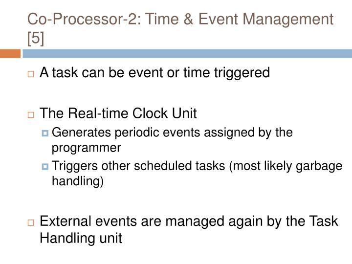 Co-Processor-2: Time & Event Management