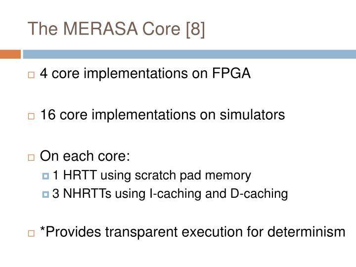 The MERASA Core [8]