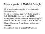 some impacts of 2009 10 drought
