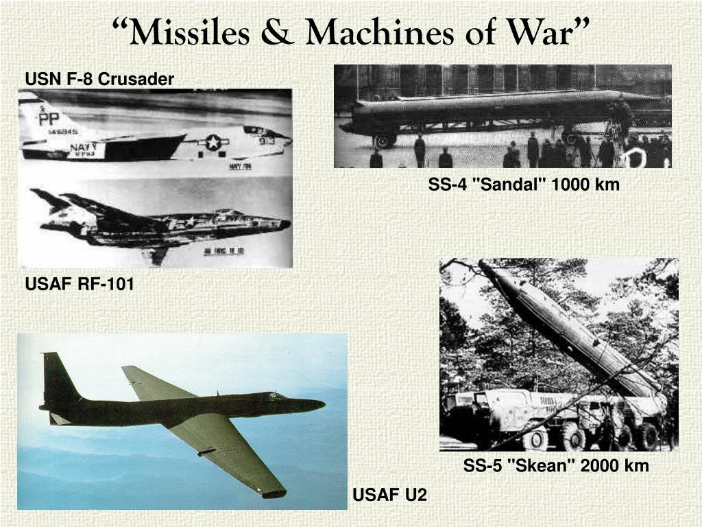 """Missiles & Machines of War"""