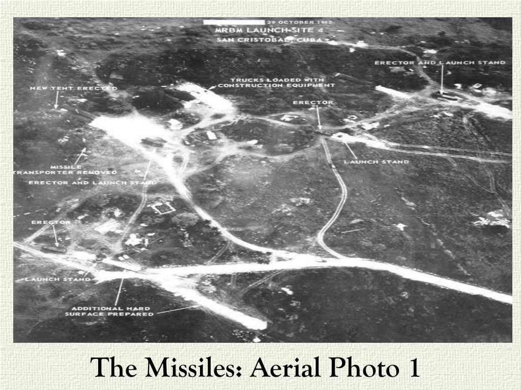The Missiles: Aerial Photo 1