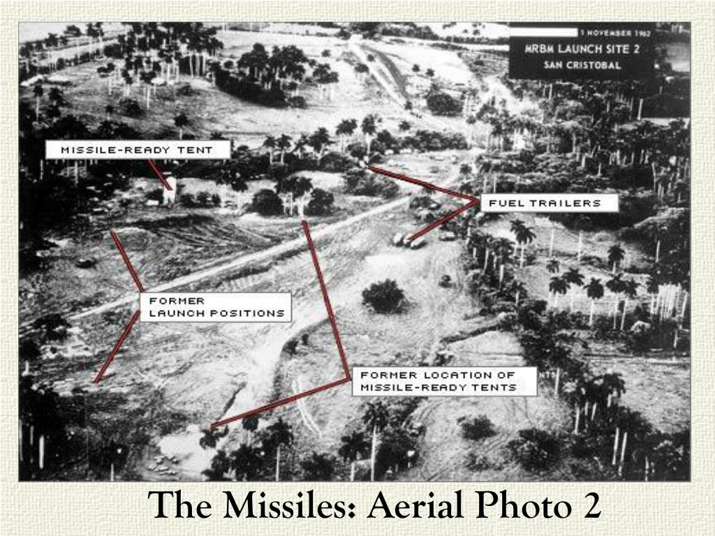 The Missiles: Aerial Photo 2