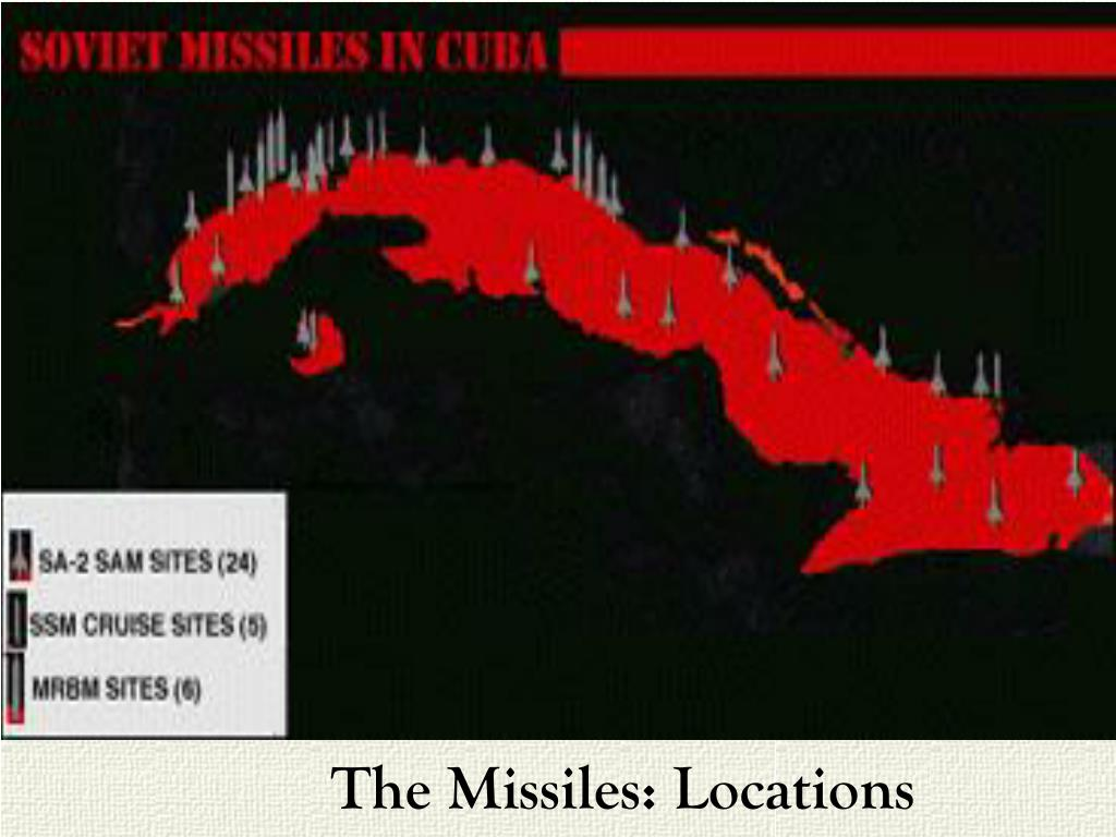 The Missiles: Locations