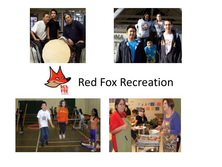 red fox recreation