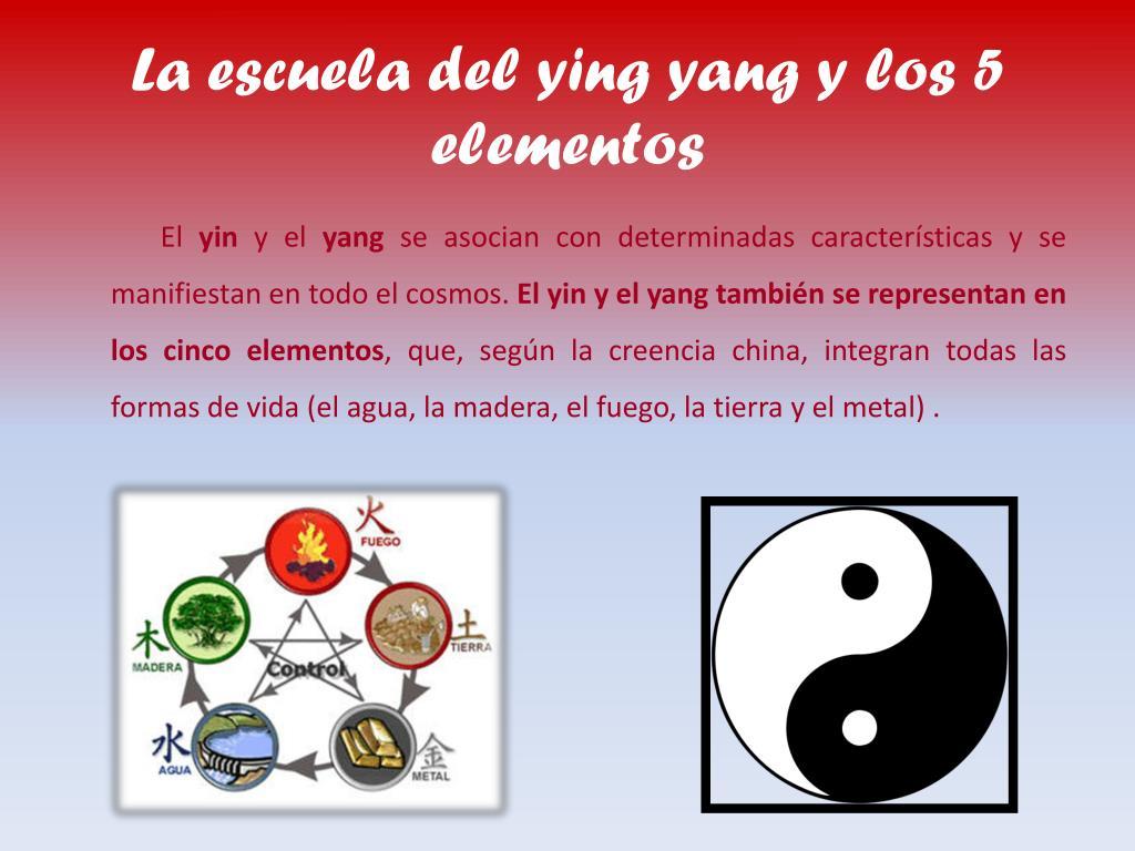 La escuela del ying yang y los 5 elementos