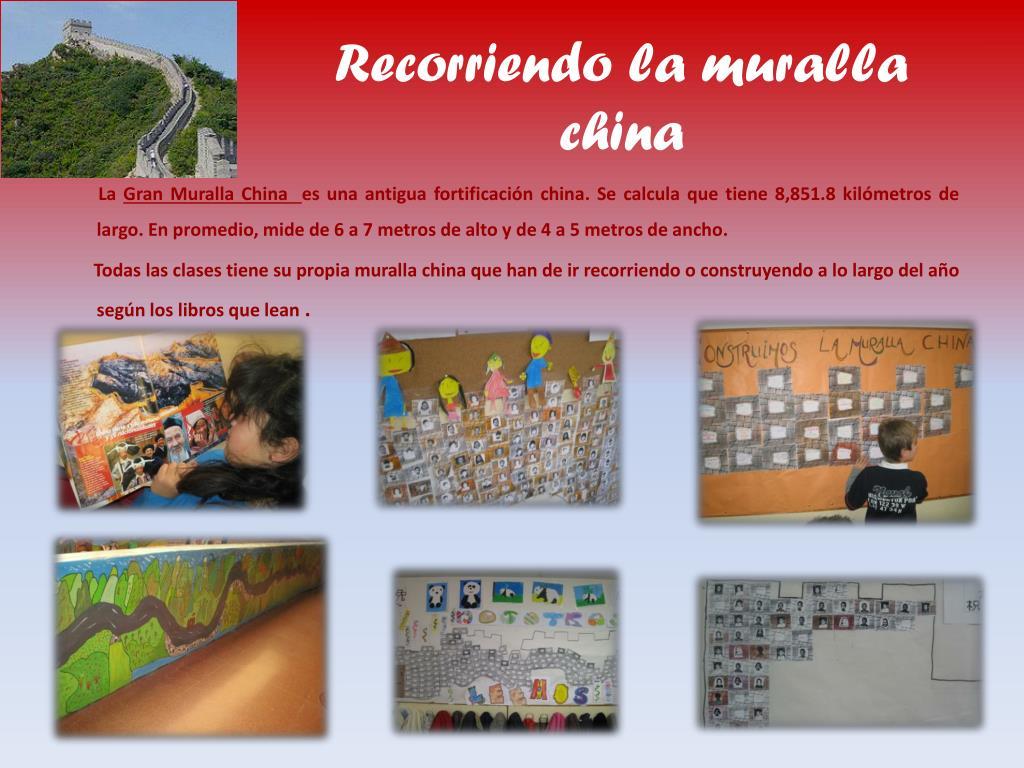 Recorriendo la muralla china