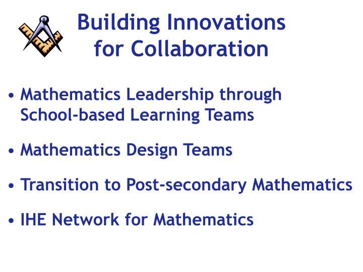 Building Innovations
