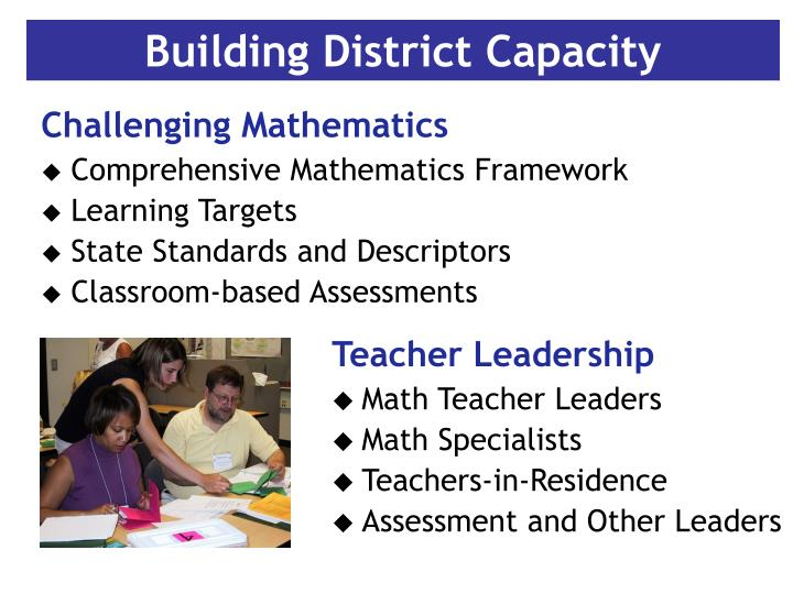 Building District Capacity