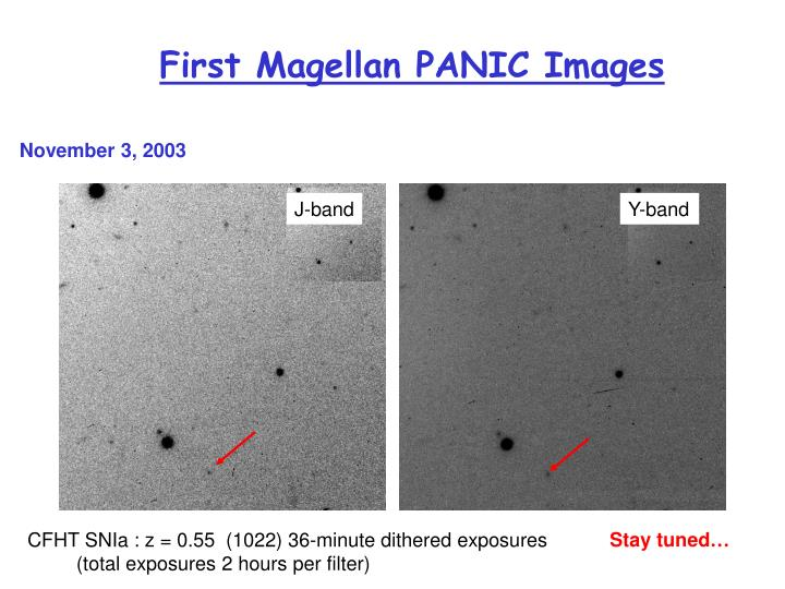 First Magellan PANIC Images