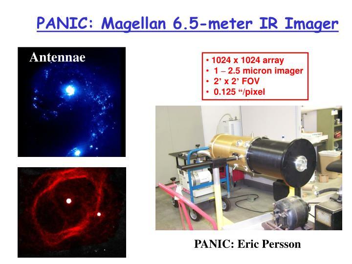 PANIC: Magellan 6.5-meter IR Imager
