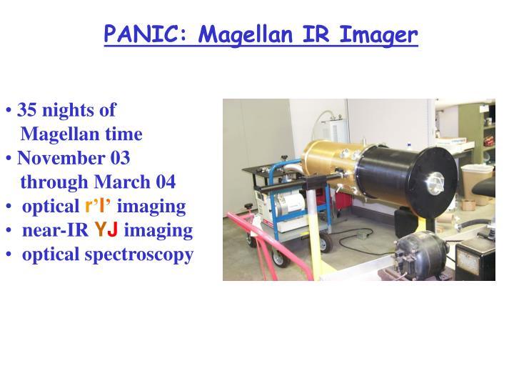 PANIC: Magellan IR Imager