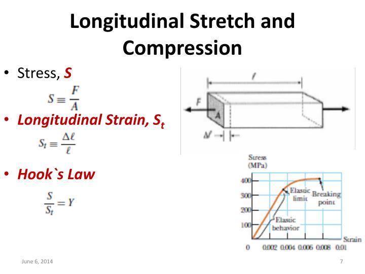 Longitudinal Stretch and Compression