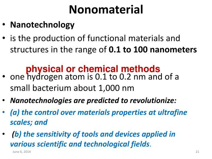 Nonomaterial