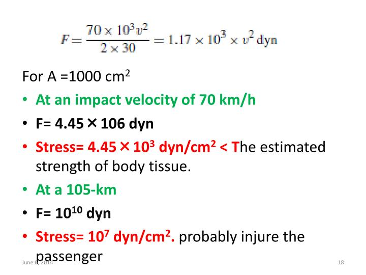 For A =1000 cm