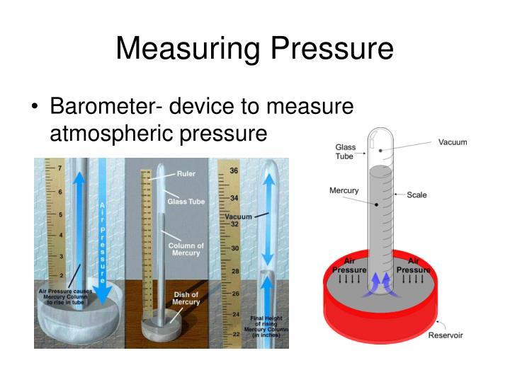 Measuring Pressure