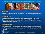 objetivos de desarrollo para el milenio 2015