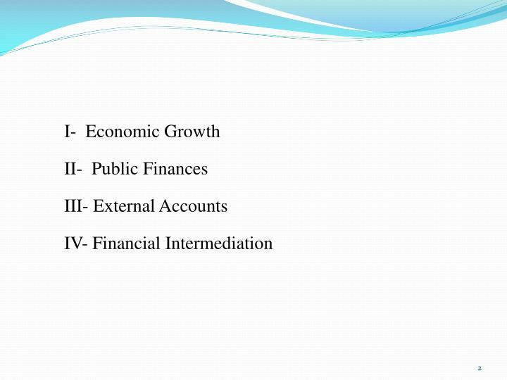 I-  Economic Growth