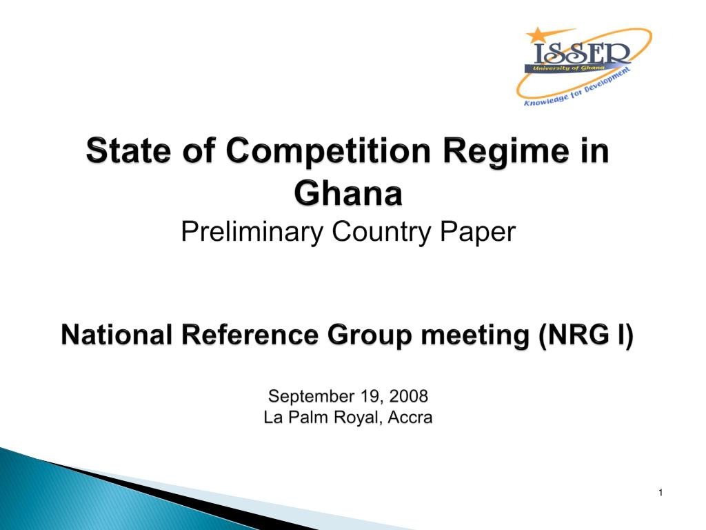 State of Competition Regime in Ghana