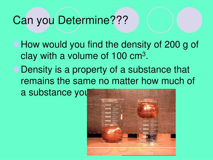 Can you Determine???