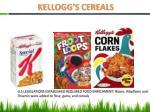kellogg s cereals