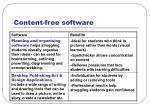 content free software18