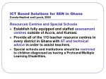 ict based solutions for sen in ghana casely hayford and lynch 200329