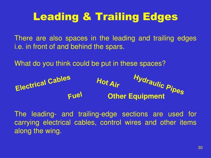 Leading & Trailing Edges