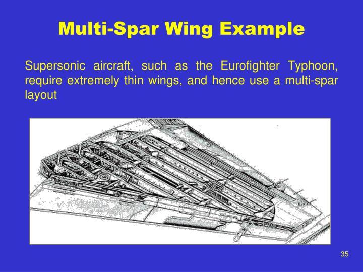 Multi-Spar Wing Example