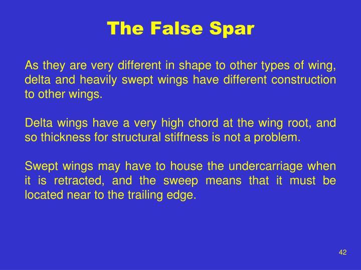 The False Spar