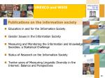 publications on the information society13