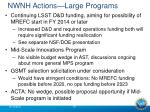 nwnh actions large programs