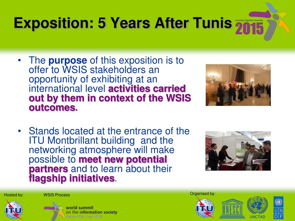 Exposition: 5 Years After Tunis