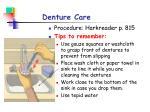 denture care1
